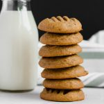 Tender, fluffy, sweet, and a little bit salty, these natural peanut butter cookies are the only PB cookie you will ever want to eat again. Perfect with a hot cup of coffee.   naturallysweetkitchen.com