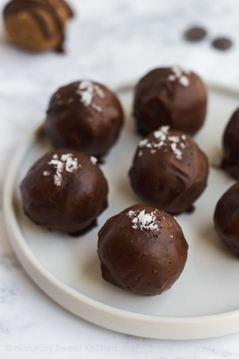 Cookie Dough Protein Truffles