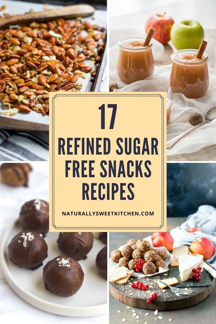 17 Refined Sugar Free Snacks Recipes