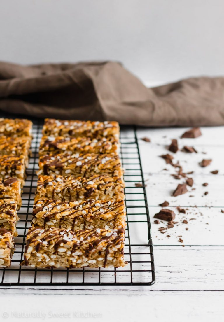 The Best Peanut Butter Granola Bars