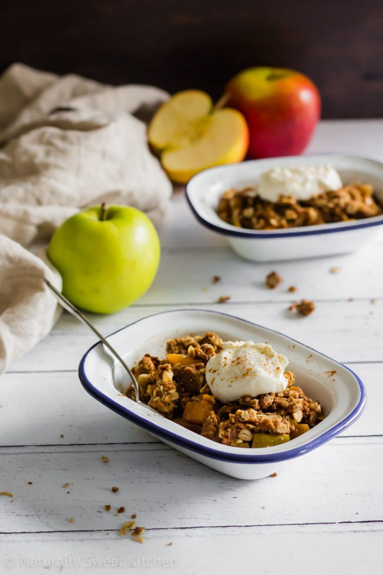 15-Minute Apple Crisp
