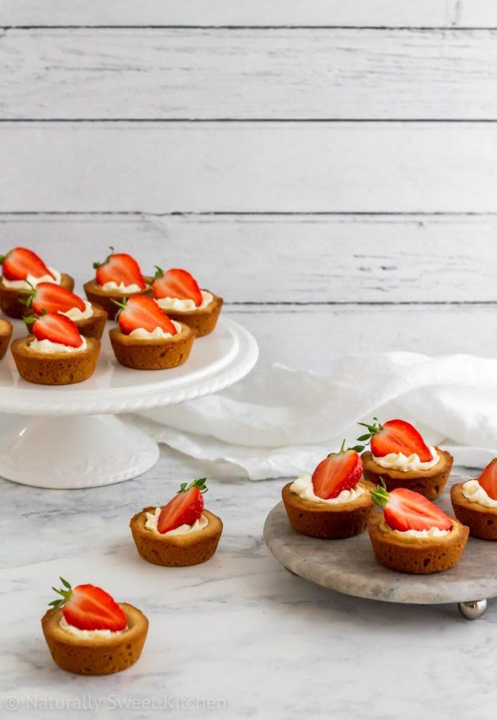 Strawberry Shortcake Cookie Cups Recipe