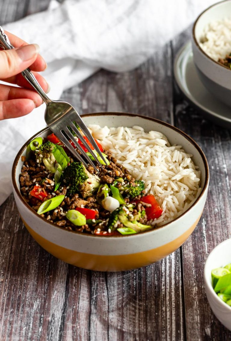 Easy Korean Beef Bulgogi with Broccoli