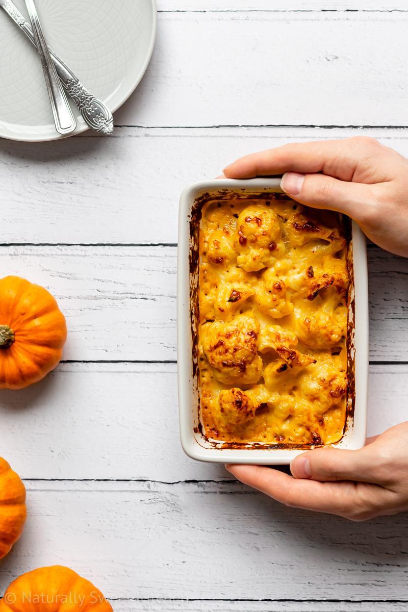 Pumpkin Cauliflower Cheese