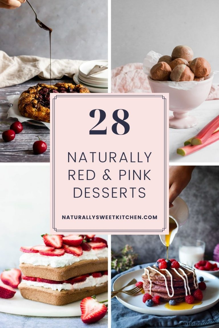 28 Naturally Red and Pink Desserts