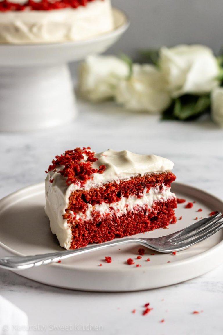 Natural Red Velvet Cake Recipe