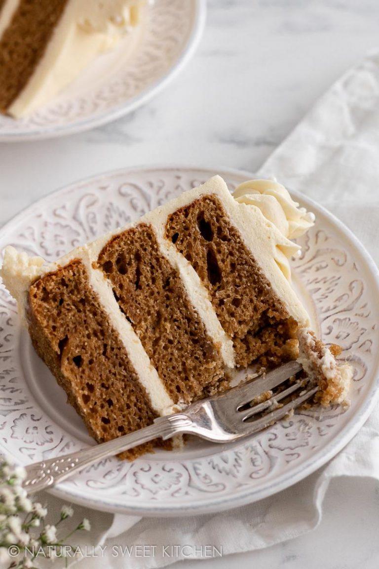 Refined Sugar Free Vanilla Cake