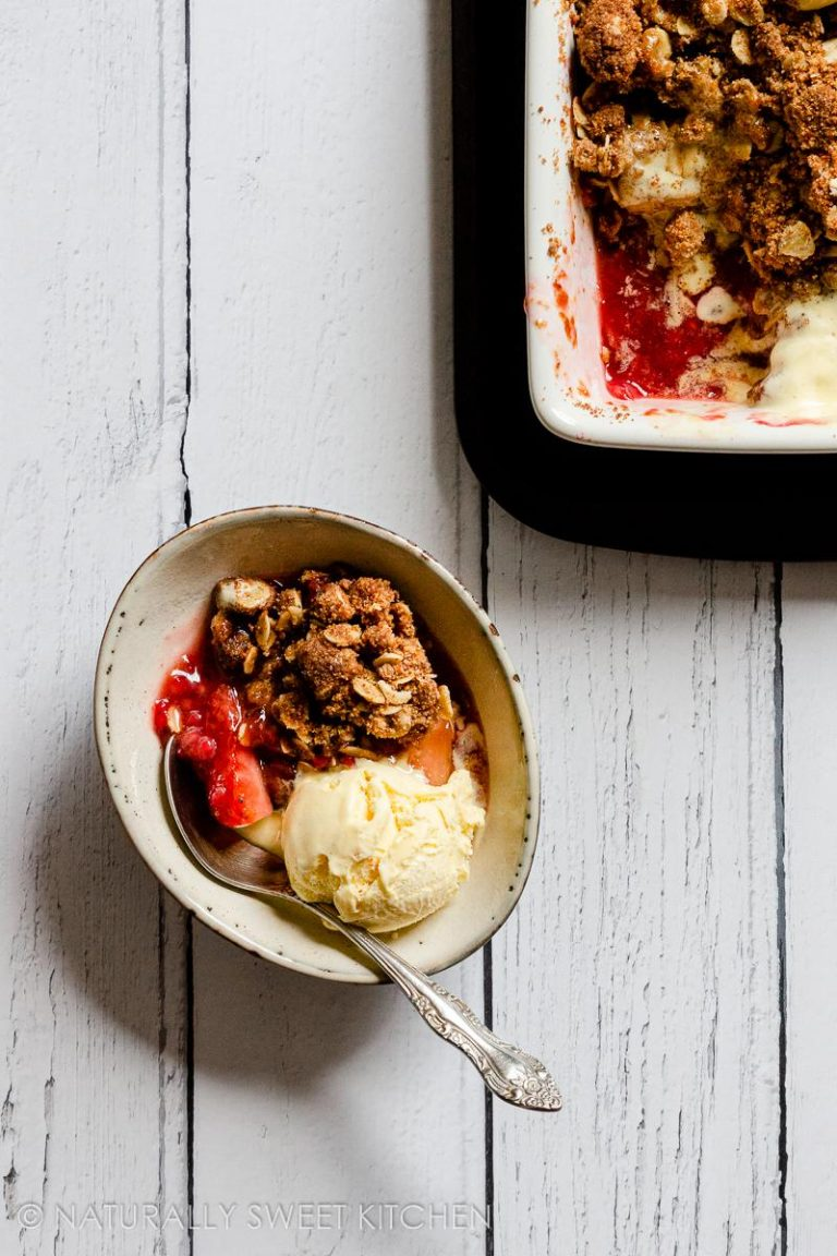 Healthy Berry Crumble